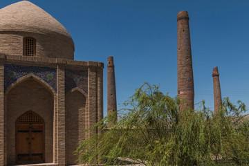 moschee und minaretts musalla komplex herat - afghanistan