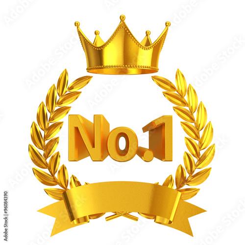 u0026quot gold no 1 emblem u0026quot  stock photo and royalty