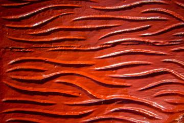 Maori carving - element