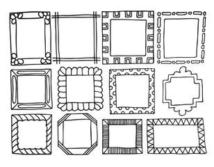 Hand-drawn frames