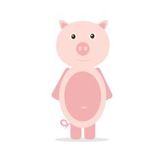Vector  pig.