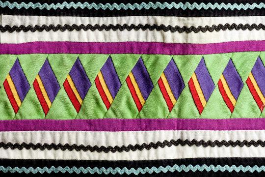 Seminole handmade quilted patterns
