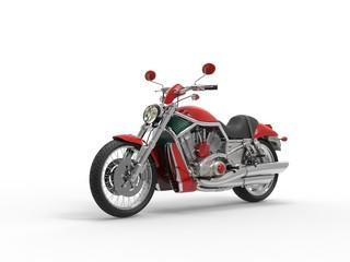 Red Roadster Bike