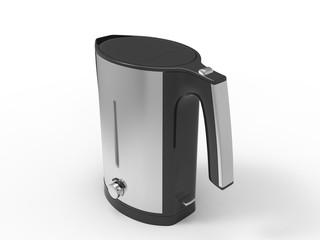 Chrome metallic kettle
