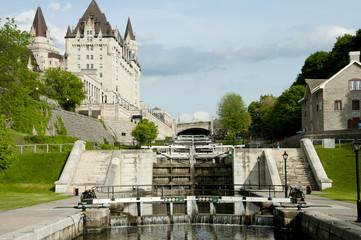 Rideau Canal Locks - Ottawa - Canada