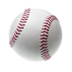 new baseball isolated on white background