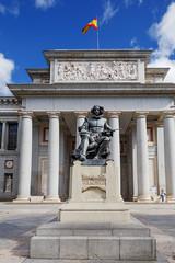 Madrid, Estatua de Velázquez, Museo del Prado