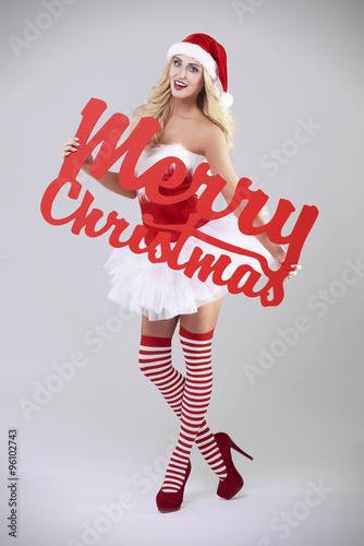 sexy santa merry christmas