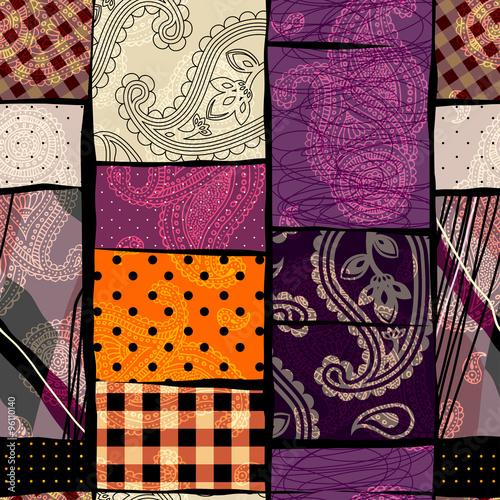 abstract patchwork background stockfotos und lizenzfreie vektoren auf bild 96110140. Black Bedroom Furniture Sets. Home Design Ideas