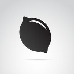 Lemon VECTOR icon.