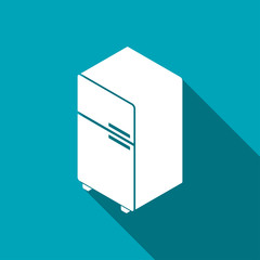 fridge isometric 3d icon