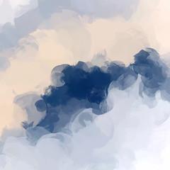 Obraz premium Chmury abstrakcyjne tło