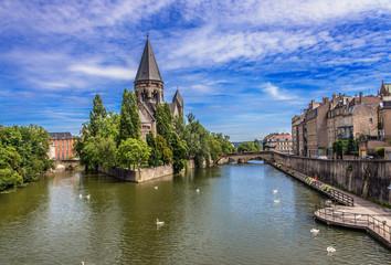 Metz, Eglise du Temple Neuf