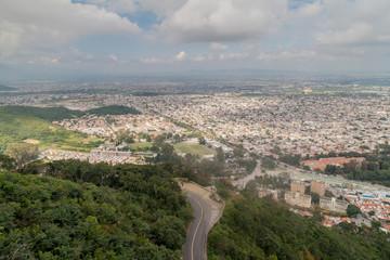 Aerial view of Salta, Argentina
