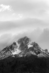 Jagged Mountain Peaks - Torres del Paine National Park - Chile