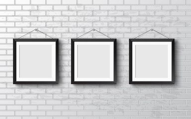 Set Realistic frame. Perfect for your presentations