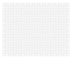 Jigsaw puzzle frame