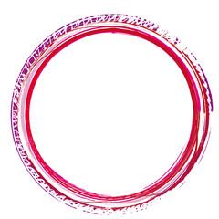 runder Rahmen Kreis Kugel