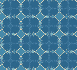 Seamless repeating pattern on a light background