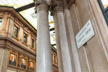 Galleria Alebrto Sordi in Rome, Italy.