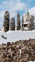 Valldemossa, Blick auf das Kloster