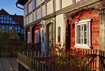 Umgebindehaus - half-timbered house 10