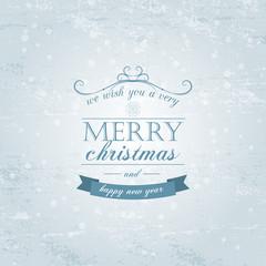 Christmas light vector background. Card or invitation
