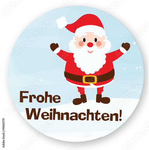 frohe weihnachten sticker button stockfotos und. Black Bedroom Furniture Sets. Home Design Ideas