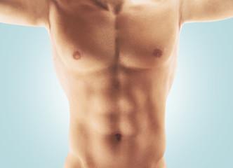 Petto torace uomo nudo