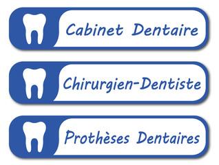 Panneau cabinet dentaire.