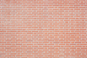 New red bricks wall texture background