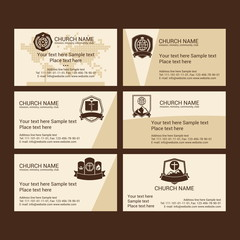Set Christian business cards. For the church, the ministry, the club and the community