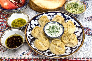 Manti or Mantu are dumplings popular in most Asia cuisines