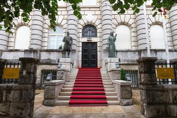 Ministry of Culture building, Cetinje, Montenegro.