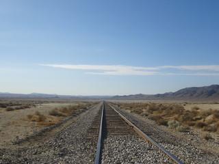 Rail au milieu de nulle part
