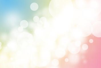 Colorful glitter sparkle defocused rays lights bokeh