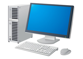 デスクトップパソコン画面あり
