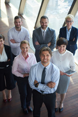 diverse business people group