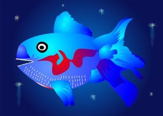 Niebieska ryba,