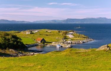Fotomurales - Rennesoy, Boknafjord nördlich von Stavanger