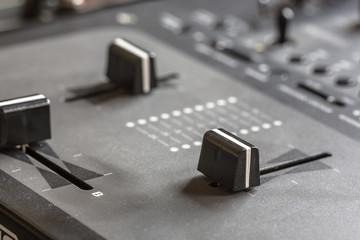 Dj mixing panel