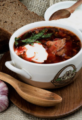 Ukrainian Traditional Borscht