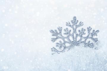 Christmas background Snowflake