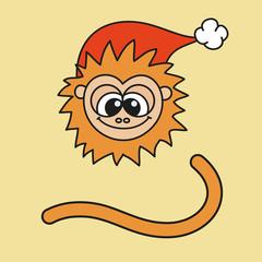 New year monkey