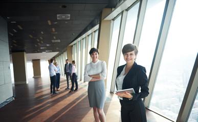 business people group, females as team leaders