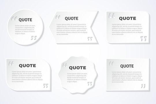 Timeless wisdom quotes icons set