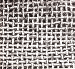 Fabric texture drawing