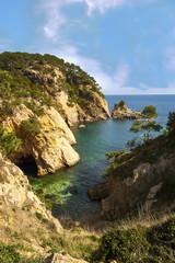 mar mediterraneo costa brava girona