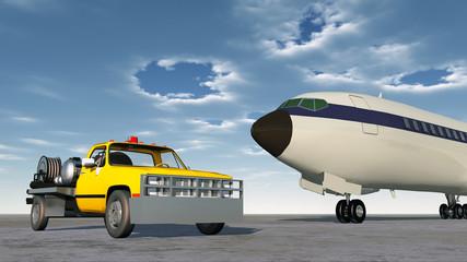 Airport Fuel Truck