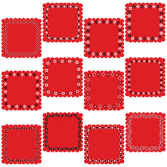 bandana square labels